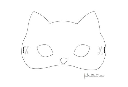 Máscara Gato - passo 3