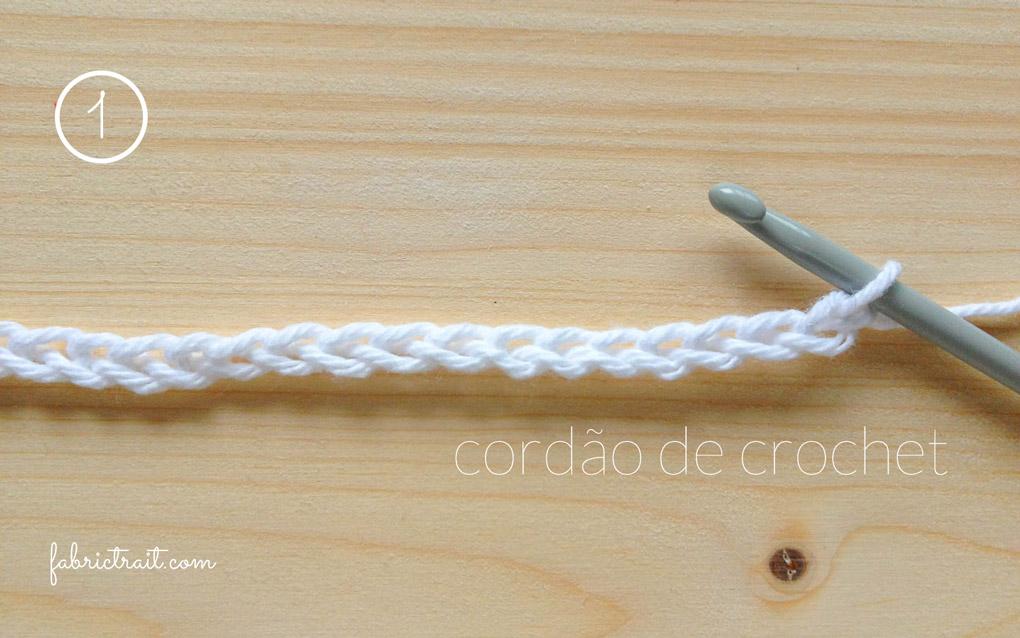 Pontos de Crochet - Crochet Tunisino Simples 1 | crochet tunisino