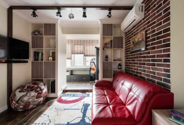 Студия с двумя окнами дизайн: Интерьер квартиры-студии с ...