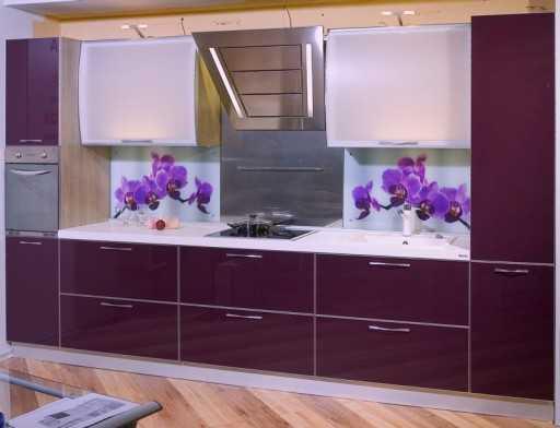 Примеры фартуков для кухни из плитки – дизайн + 70 фото идей
