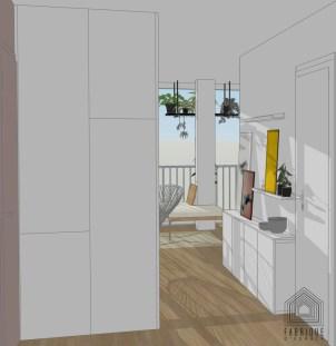 Rénovation appartement Boulogne-Billancourt , architecte d'intérieur gironde rénovation 33