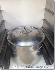 Etuvage du grand levain pour la fabrication de ferment liquide