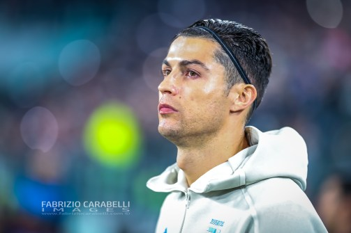 Cristiano Ronaldo of Juventus during the Champions League match between Juventus and Atletico Madrid at the Allianz Stadium, Turin, Italy on 26 November 2019. Photo by Fabrizio Carabelli