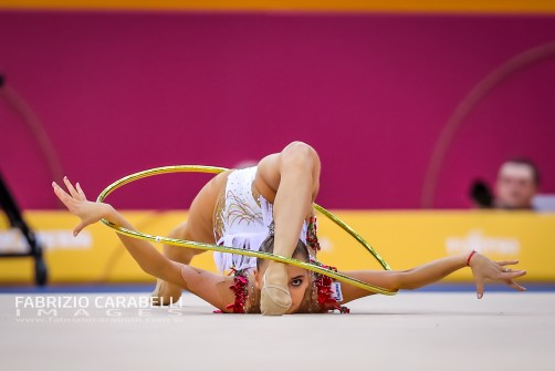 AVERINA DINA (RUS) FIG Rhythmic Gymnastics WORLD CHAMPIONSHIPS BAKU 2019 --------------------------------------------------------------- Immagini ad uso editoriale • Servizio Uffici Stampa e Federazioni • Contattateci per informazioni Images for editorial use • Federations and Press Office Service • DM for any information Fabrizio Carabelli © All Rights Reserved -------------------------------------------------------------- FABRIZIO CARABELLI IMAGES #FCI www.fabriziocarabelli.com