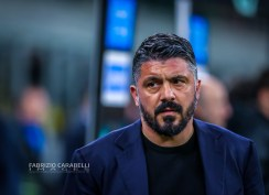 Head Coach of SSC Napoli Gennaro Gattuso during the Coppa Italia 2019/20 match between FC Internazionale vs SSC Napoli at the San Siro Stadium, Milan, Italy on February 12, 2020 - Photo Fabrizio Carabelli
