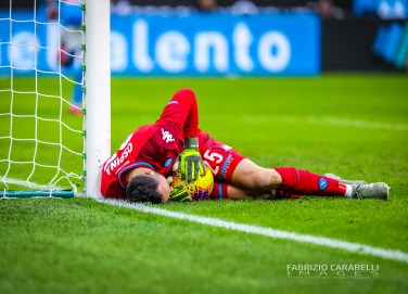 David Ospina of SSC Napoli during the Coppa Italia 2019/20 match between FC Internazionale vs SSC Napoli at the San Siro Stadium, Milan, Italy on February 12, 2020 - Photo Fabrizio Carabelli