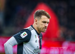 Aaron Ramsey of Juventus during the Coppa Italia 2019/20 match between AC Milan vs Juventus at the San Siro Stadium, Milan, Italy on February 13, 2020 - Photo Fabrizio Carabelli