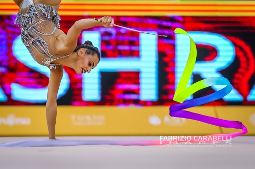 ASHRAM (ISR) FIG Rhythmic Gymnastics WORLD CHAMPIONSHIPS BAKU 2019 --------------------------------------------------------------- Immagini ad uso editoriale • Servizio Uffici Stampa e Federazioni • Contattateci per informazioni Images for editorial use • Federations and Press Office Service • DM for any information Fabrizio Carabelli © All Rights Reserved -------------------------------------------------------------- FABRIZIO CARABELLI IMAGES #FCI www.fabriziocarabelli.com