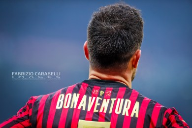 Giacomo Bonaventura of AC Milan during the Serie A match between AC Milan and US Sassuolo at the San Siro Stadium, Milan, Italy on 15 December 2019 - Photo Fabrizio Carabelli