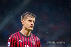 Krzysztof Piatek (AC Milan) - AC Milan vs SSC Napoli - Serie A 2919/20 - 23/11/2019 Stadio San Siro Milano