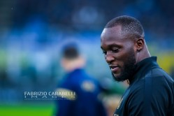 Romelu Lukaku of FC Internazionale during the Serie A match between FC Internazionale and Spal at the San Siro Satdium, Milan, Italy on 01 December 2019. Photo Fabrizio Carabelli