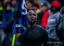Romelu Lukaku of FC Internazionale celebrates the goal during the Serie A match between FC Internazionale and AC Milan at the San Siro Stadium, Milan, Italy on 09 February 2020 - Photo Fabrizio Carabelli