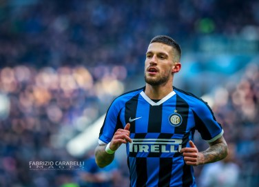 Stefan de Vrij of FC Internazionale during the Serie A 2019/20 match between FC Internazionale vs Cagliari Calcio at the San Siro Stadium, Milan, Italy on January 26, 2020 - Photo Fabrizio Carabelli