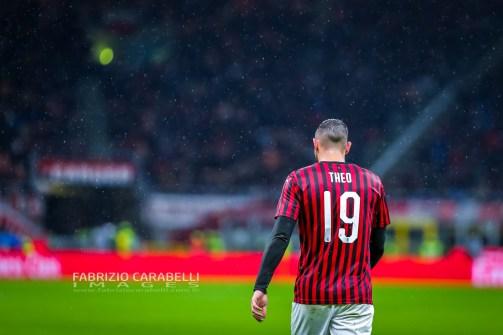 Theo Hernandez (AC Milan) - AC Milan vs SSC Napoli - Serie A 2919/20 - 23/11/2019 Stadio San Siro Milano