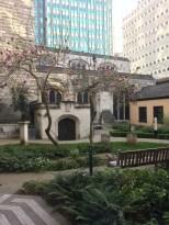 un giardino nascosto in hotel