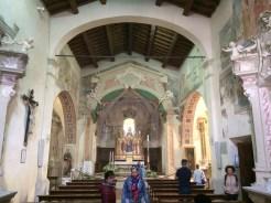 interno della Chiesa di San Giorgio - Montemerano
