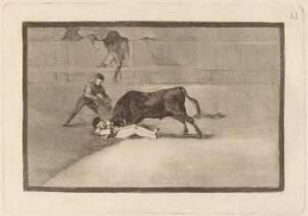 Goya cykl Tauromachia