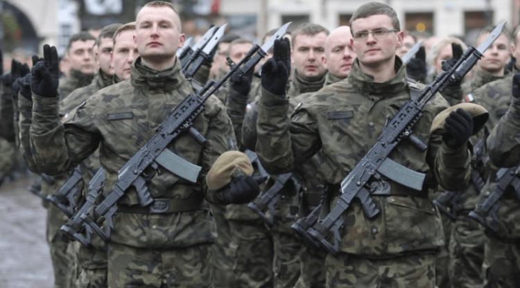 przysięga wojskowa Wojsk Obrony Terytorialnej