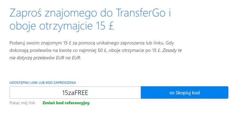 transfergo kupon