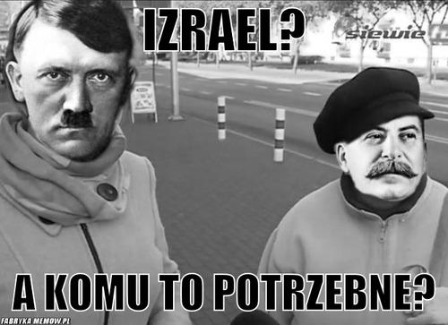 IZRAEL?