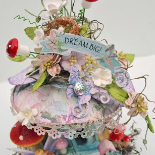 C97 Charms Of Spring Collection_Fairy Mushroom House_3_Trudi Harrison