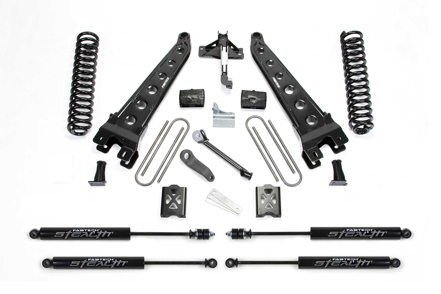 6 Radius Arm System W Stealth Shocks