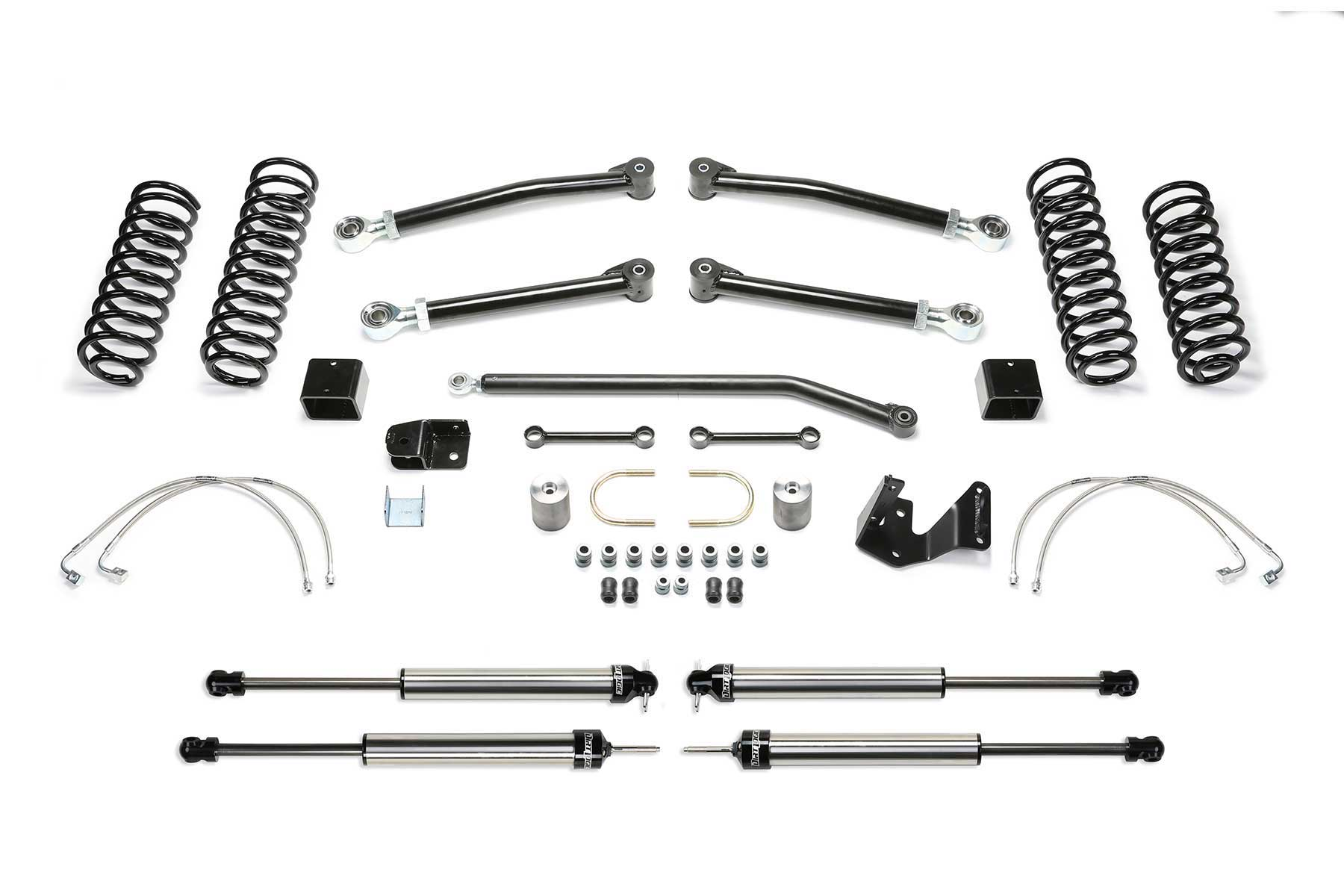 3 Trail Ii System W Dirt Logic 2 25 Shocks