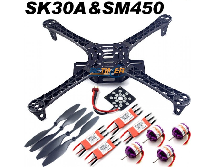 XL Quadcopter Kit At Lowest Price In India From Fab.to.Lab