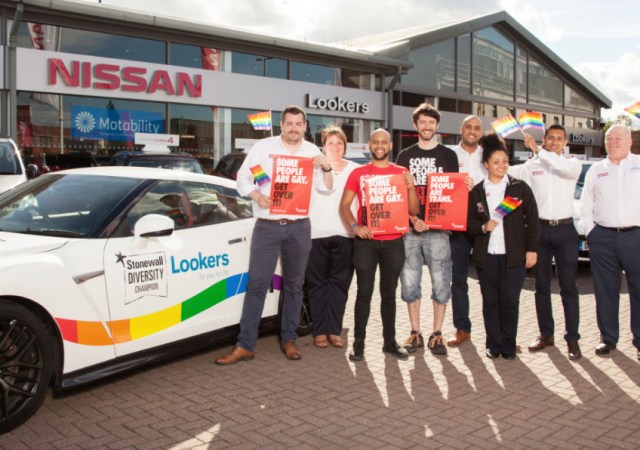 Lookers drives equality agenda by becoming Stonewall diversity champion 2