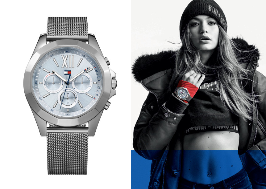 2ce058352c57c0 TOMMY HILFIGER WATCHES UNVEILS THEIR SECOND COLLABORATION WITH SUPERMODEL