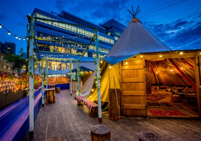 Queen of Hoxton's Winter Rooftop Presents: The Moroccan Medina 3