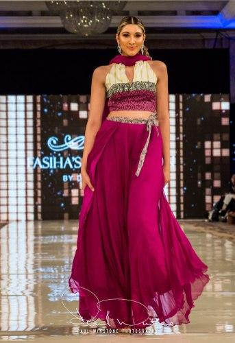 Fasiha S Collection Catwalk At Pakistan Fashion Week London (37)
