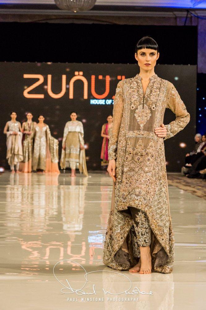 Zunn Catwalk At Pakistan Fashion Week London (15)