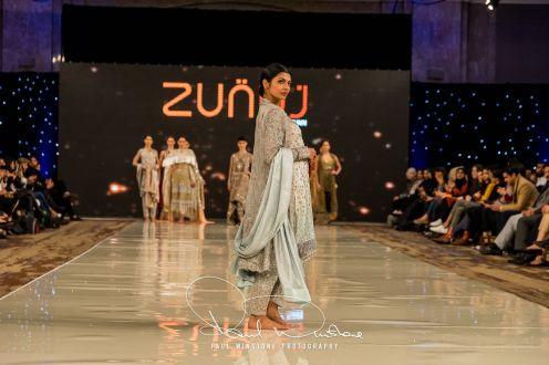 Zunn Catwalk At Pakistan Fashion Week London (7)
