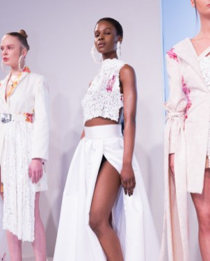 Claire Tagg At LFW (2)