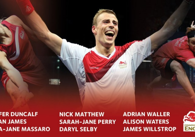 Squash Players For 2018 Commonwealth Games