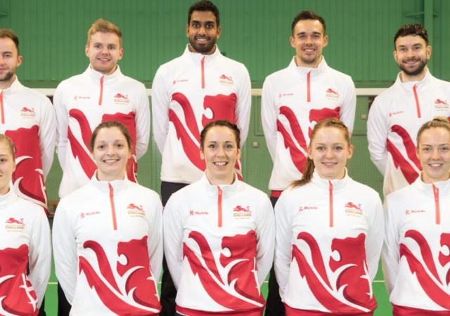 Team England Badminton Players