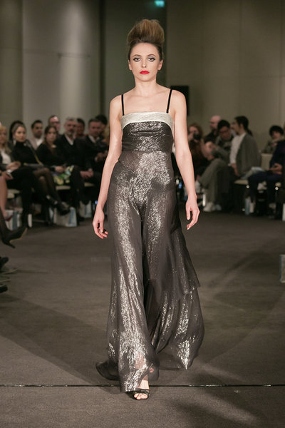 The KolchagovBarba AW18 Catwalk Show Takes Place At Me Hotel On The Strand, In London, UK. 16 Feb, 2018