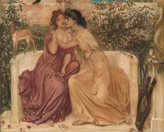 Sappho and erinna