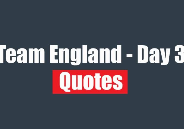 Team England Quotes