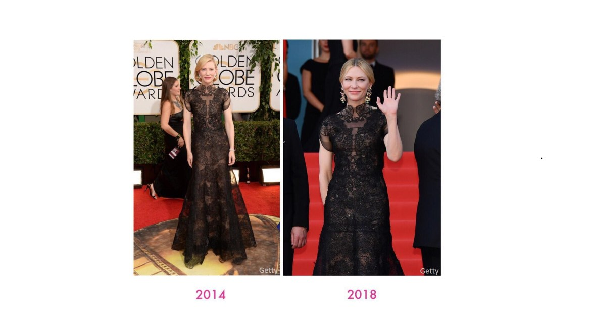 Cate blanchett re wearing