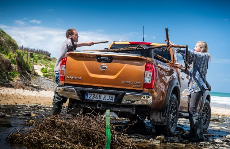 Nissan volunteers its toughest pickup to help tackle plastic pollution
