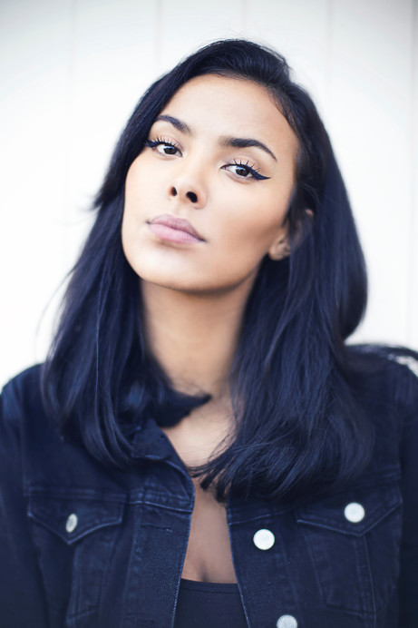 Maya jama at pure london jul18