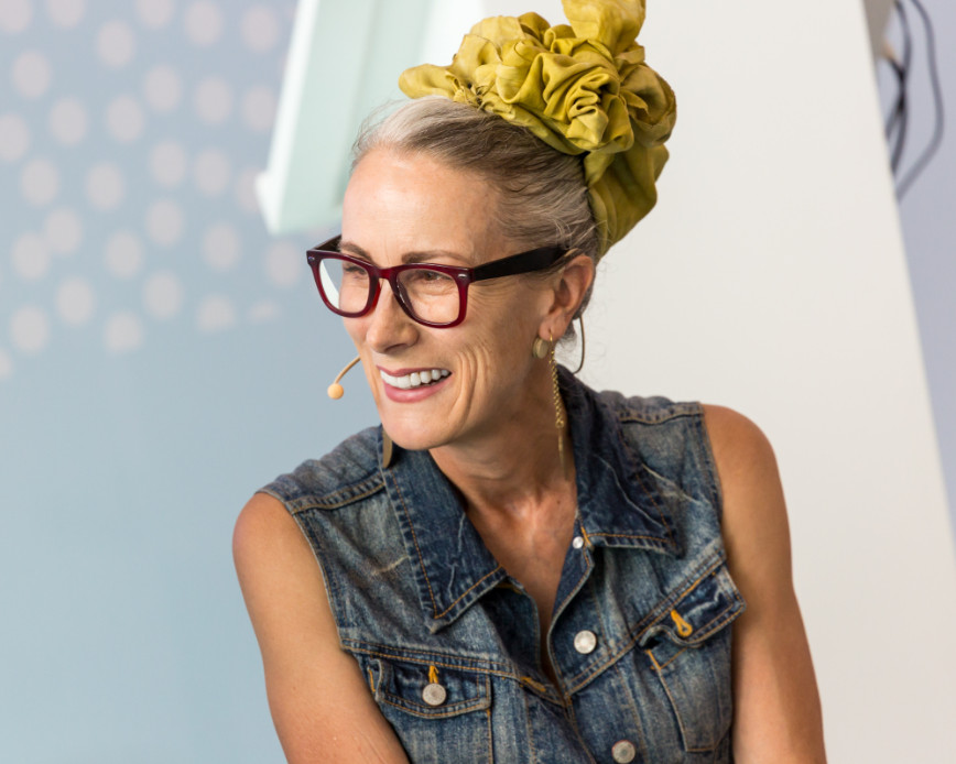 Prof caryn franklin mbe at pure london