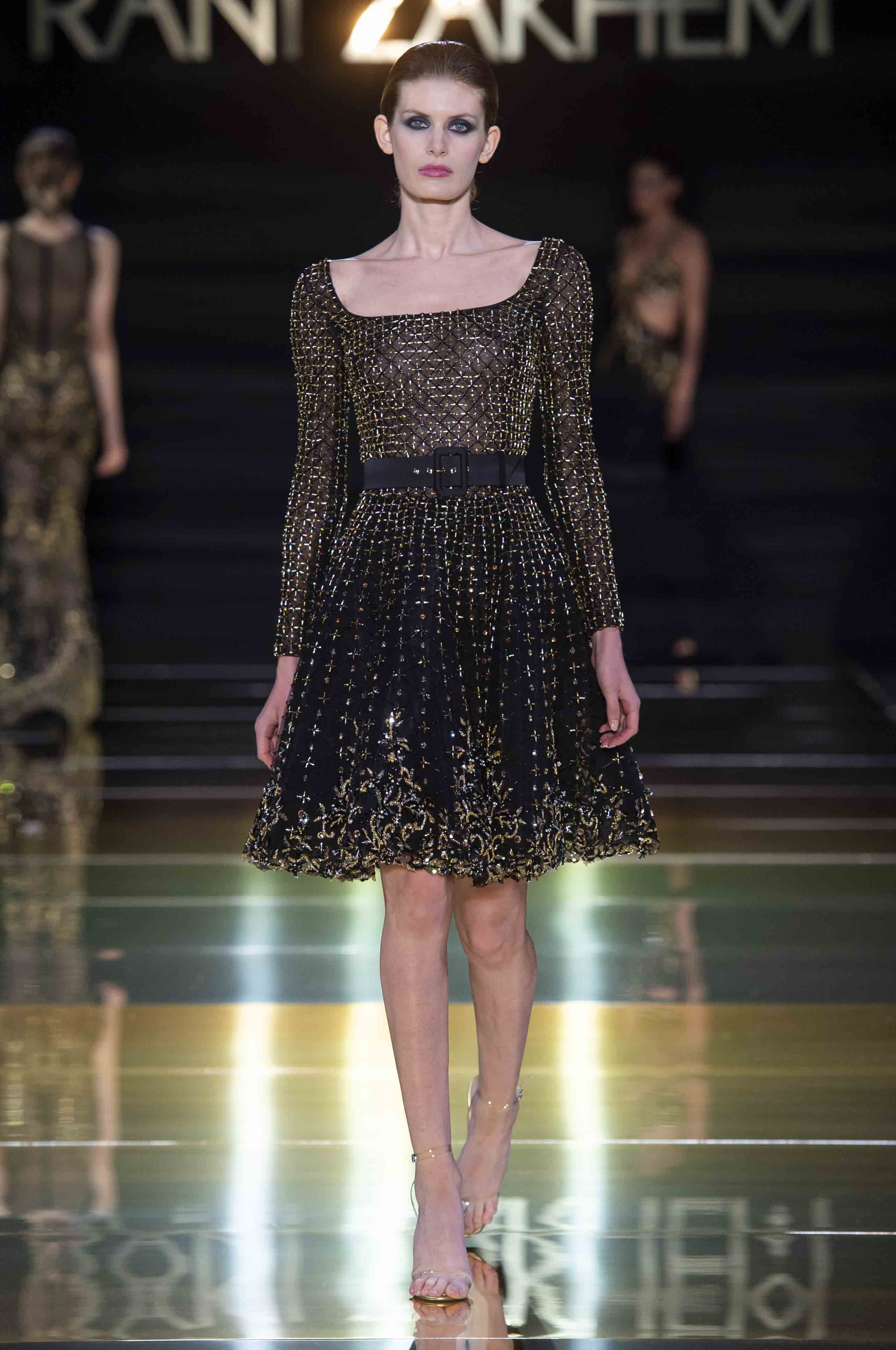 Rani zakhem couture collection automne hiver fall winter 2018 2019 pfw © imaxtree (20)