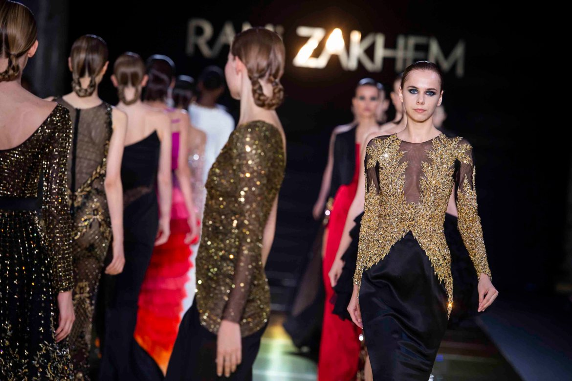 Rani zakhem couture collection automne hiver fall winter 2018 2019 pfw © imaxtree (30)