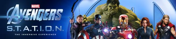 Avengers s.t.a.t.i.o.n. london