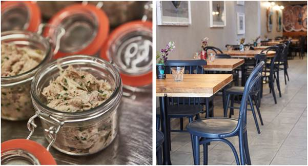 Potted kilner jars available at bean & wheat