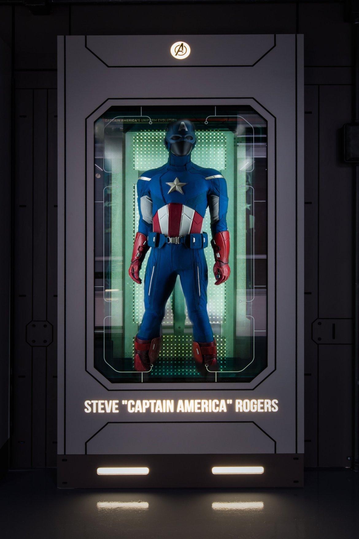 S.t.a.t.i.o.n. steve captain america rogers