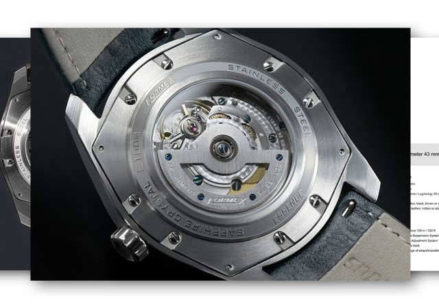 Formex watchs